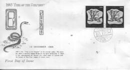 RYU KYU  OKINAWA  1965 Year Of The Serpent  10/12/64