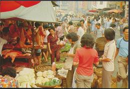 °°° 4868 - HONG KONG - KOWLOON - MARKET EXISTING IN THE OPEN STREET °°° - Cina (Hong Kong)