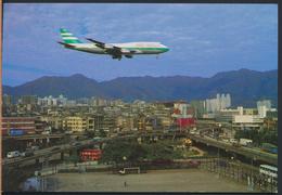 °°° 4869 - HONG KONG - KOWLOON CITY - KAI TAK AIRPORT °°° - Cina (Hong Kong)