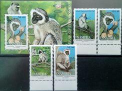 Namibia, 2004, Year Of The Monkey, MNH