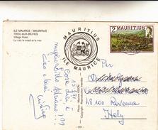 Mauritius, Ile Maurice. Post Card Viaggiata 1981 - Mauritius