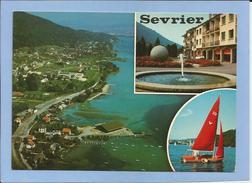 Sevrier (74) Et Le Lac D'Annecy 2 Scans 26/06/1979 Vue Aérienne Voilier Fontaine - Autres Communes