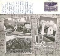 Schaan - Gruss Aus  (Multivue)              Ca. 1960 - Liechtenstein