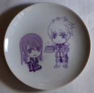 "Tales Of Symphonia "" Art Plate "" - Ceramics & Pottery"