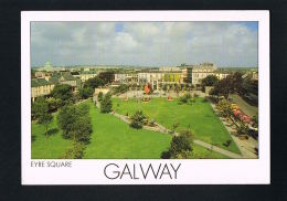 EIRE-IRLANDE-GALWAY - Eyre Square -  - Voyagée Avec Timbre 1990  - Recto Verso- Paypal Free - Galway