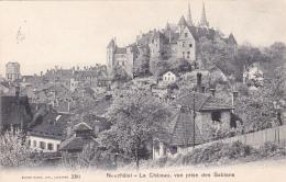 Neuchâtel : Le Château, Vue Prise Des Sablons - Obl.5.VII.1906 - NE Neuchâtel