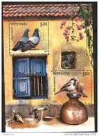 INDIA, 2010, Birds Of India,  Set 2 V,  Miniature Sheet,  MNH, (**)