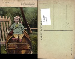 540466,Volkstypen Typen Fass Kind Hase Normandie Costumes Tracht France Frankreich - Europe