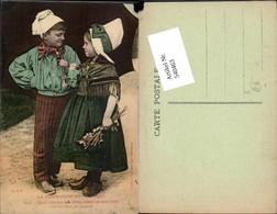 540463,Volkstypen Typen Kinder Normandie Costumes Tracht France Frankreich - Europe