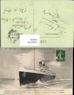 540250,Le Havre Le Paquebot La France Hochseeschiff Schiff - Handel