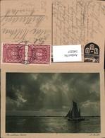 540237,Künstler Ak A. Bruhn An Sicherer Küste Segelschiff Segelboot Schiff - Segelboote