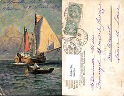 540228,Künstler Ak E. Schreckhause Segelschiff Segelboot Schiff - Segelboote
