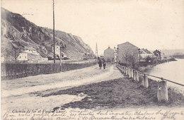 Yvoir - Chemin De Fer Et Pont D'Yvoir (1904, Animée)