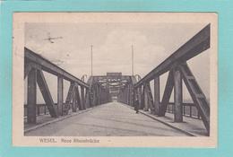 Old Postcard Of Rheinbrucke,Wesel, North Rhine-Westphalia, Germany,Posted,R38.