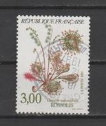 """FRANCE / 1992 / Y&T N° 2767 : """"Fleurs Des étangs & Marais"""" (Rossolis) - Choisi - Cachet Rond - Frankreich"""