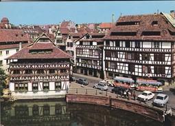67-----STRASBOURG--la Petite France Avec La Maison Des Tanneurs Et Le Petit Train---voir 2 Scans - Strasbourg