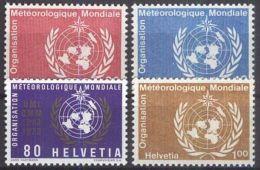 SCHWEIZ 1973 MI-NR. WMO 10/13 ** MNH - Officials