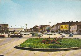 Courcelles - Place Roosevelt (animée, Supermarché GB, Oldtimer, Cox)
