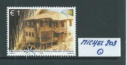 KOSOVO MICHEL 203 Rundgestempelt Siehe Scan