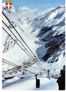Val D ' Isère - Arrivée Du Téléphérique De Bellevarde - Val D'Isere