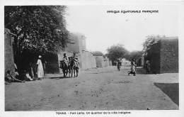 TCHAD / Fort Lamy - Un Quartier De La Ville Indigène - Tchad
