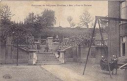 Ans - Pensionnat Des Religieuses Ursulines - Cour Et Terrasse (animée, 1918) - Ans