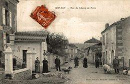DEVIAT RUE DU CHAMP DE FOIRE - Autres Communes