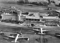 (27) CPSM  Zurich  Flughafen Kloten  (bon Etat) - ZH Zürich
