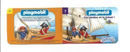 Petit Livret PLAYMOBIL Numéro 7 Les Pirates Et Le Trésor ! GERVAIS - Playmobil