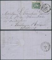 AM861 Lettre De Roux à Fontaine L'Eveque 1873