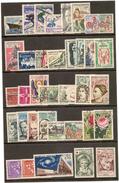 1962 Oblitérés  Année Complète (sauf N° 1353A Et 1360)