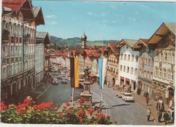 CPM:  BAD  TÖLZ  (Bavière - Allemagne):    Historische Marktstrasse. (très Animé).        (D 505) - Bad Toelz