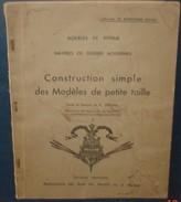NAVIRES DE GUERRE.Construction Simple Des Modéles De Petite Taille.Bateaux.72 Pages+plan Richelieu - Littérature & DVD