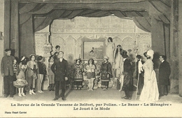 """Belfort (Territoire De Belfort, France) Revue De La Grande Taverne De Belfort, Par Polian, Le Bazar, """"le Jouer à La Mode - Belfort - Ville"""