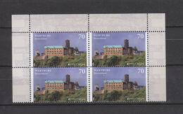 BRD ** 3310 Wartburg 4er Block Neuausgabe 11.5.17 Postpreis 2,80 - Ongebruikt