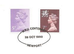1980  Rugby Tournée All Blacks : Newport/All-Blacks