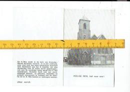 Kl 8247 Heilige Rita Bid Voor Ons - Wervik Kerk Kruieke - Religion & Esotérisme