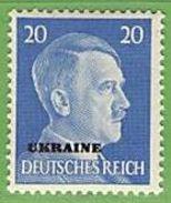 MiNr.11 Xx Deutschland Besetzte Gebiete II.WK Ukraine - Besetzungen 1938-45