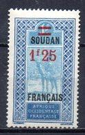 TGC/ Soudan  N°  48  Neuf  XX  MNH , Cote :  2,50 € , Album 12 - Soedan (1894-1902)