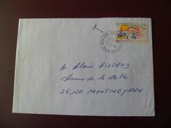 """Lettre De Gunsbach- Griesbach Au Val Le 16/10/2004 Avec Le N° 2795 Seul  (2F50) Taxée à L'arrivée """" T""""  TB - Poststempel (Briefe)"""