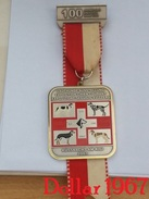 Medaille-Medal-médaille-Laufhunde Ausstellung Schweiz 2003 - Exposition Chien Courant Suisse  2003- Switzerland - Tokens & Medals