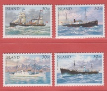 1995 ** Islande  (sans Charn., MNH, Postfrish)  Yv  789/92Mi  828/31 - 1944-... Republik