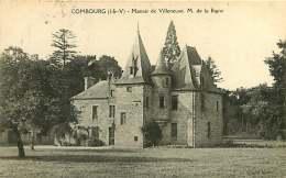 35 - 130517A - COMBOURG - Manoir De Villeneuve M. De La Bigne - Noblesse - Combourg