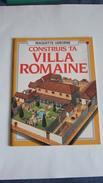 Maquette Villa Romaine De Marque USBORNE En Trés Bon état - Autres Collections