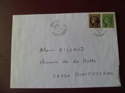 Lettre Circulée De Bondoufle Le 18/12/2006 Avec Les N° 677 Et 680 ! ! !    TB - 1945-47 Cérès De Mazelin