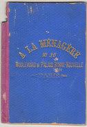 """""""A La Ménagère"""" Paris  Carnet De Notes - 1800 – 1899"""