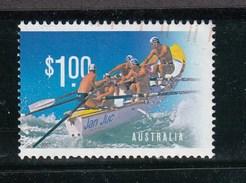 Australia 2007  Year Of The Lifesaver - $1.00 Surfboat  Used