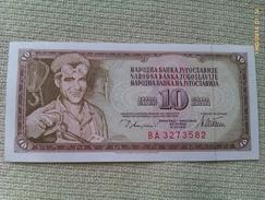 Billete Yugoslavia. 10 Dinares. 1978. Sin Circular. - Yugoslavia