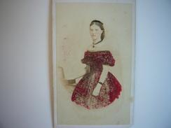 Photo CDV De La Princesse Dagmar Du Danemark Tsarine Maria-Feodorovna De Russie épouse Du Tsar Alexandre III - Photographs