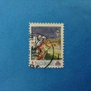 Erinnofilo Chiudilettera Usato - Norvegia NORGE 1957 God Jul - Cinderellas